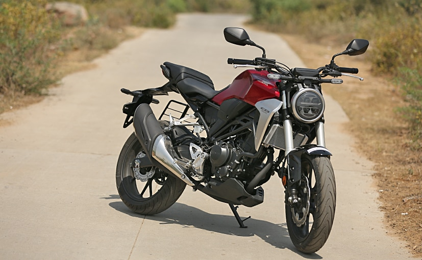 The Honda CB300R is priced at Rs. 2.41 lakh (ex-showroom, India)