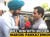 "Video : ""Bigger Win Margin"", Says Rajnath Singh's Lucknow Poll Manager - His Son"