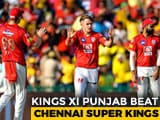 Kings XI Punjab Win Last League Match Against Chennai Super Kings
