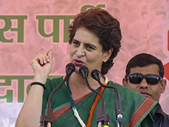Priyanka Gandhi Slams Amit Shah, Yogi Adityanath Over Law And Order In UP