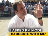 "Video : ""PM Sleeps For 3 Hours, Debate Me On Corruption"": Rahul Gandhi To Ravish Kumar"