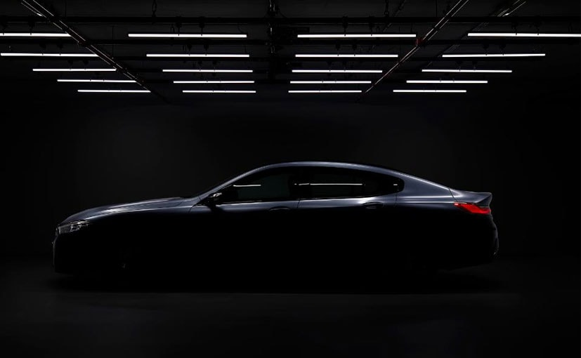 The BMW 8 Series Gran Coupe will be unveiled in June.