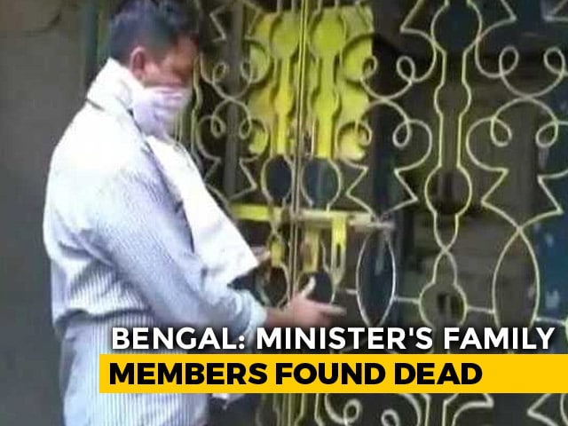 Video : Decomposed Bodies Of Bengal Minister's Family Members Found At Home