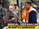 Video : In Bengal, Vidyasagar Lookalike Campaigns For BJP Amid Row Over Statue