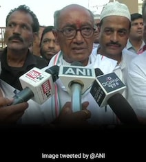 Digvijaya Singh Donates Rs 1,11,111 For Ram Temple, With A Request For PM