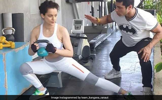 For Cannes 2019, Kangana Ranaut Lost 5 Kgs In Just 10 Days