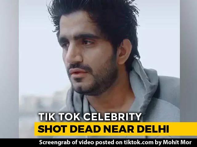 Video : TikTok Celebrity Shot Dead Near Delhi, Attackers Seen On CCTV