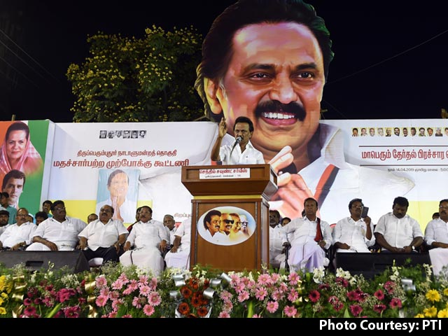 DMK-Congress Sweep Election In Tamil Nadu, Leading In 27 Seats