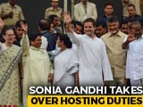 Video : Sonia Gandhi Takes Over Hosting Duties For May 23 Opposition Meet
