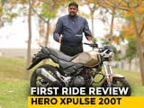 Video : Hero XPulse 200T First Ride Review