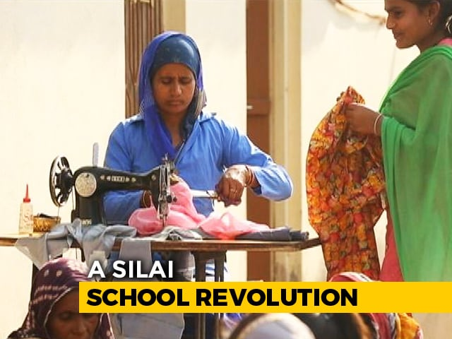 Video: Usha Silai School Women As The Mechanics