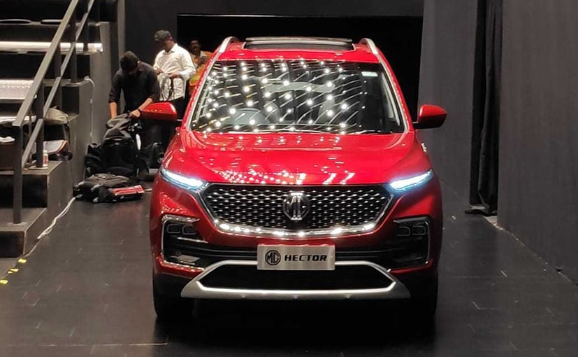 120 Month Auto Loan >> MG Hector SUV Bookings Commence From Today - CarandBike