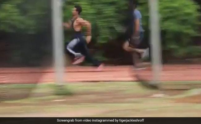टाइगर श्रॉफ ने लगाई चीते जैसी दौड़, विरोधी को यूं चटाई धूल...देखें वायरल Video