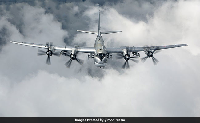 Six Russian planes intercepted by U.S. off Alaska coast