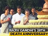Video : PM Modi Pays Tribute To Rajiv Gandhi On His Death Anniversary
