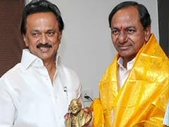 "Elections 2019: Stalin Pours Cold Water On KCR Plans: ""Don't See Chance For Third Front"""