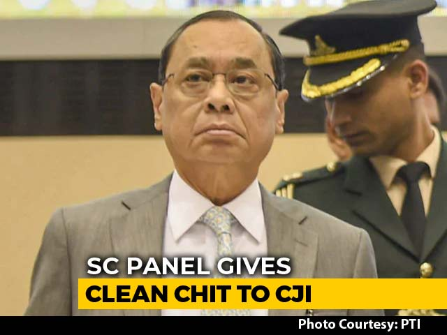 Video : Sex Harassment Charges Against Chief Justice Baseless: Top Court Panel