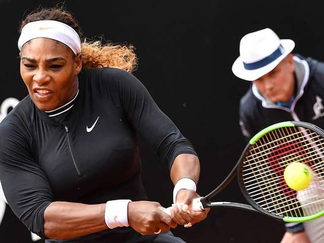 """""""Its Good To Be Back:"""" Serena Williams Eases To Victory In Rome Return"""