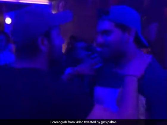 Yuvraj, Rohit Turn Into Rappers After Mumbai Indians IPL Triumph