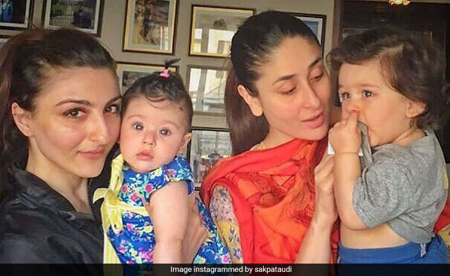 Taimur Cares For Inaaya, They Learn From each Other, Says Soha Ali Khan