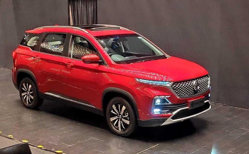 गुजरात के हलोल प्लांट में हैक्टर कॅम्पैक्ट SUV का उत्पादन इस महीने की शुरुआत से आरंभ है