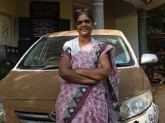 This Gujarat Woman's Cow Dung-Coated Car Is An Internet Sensation