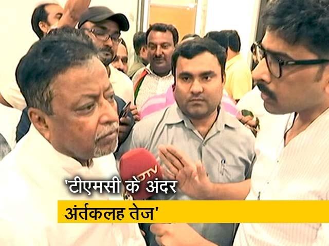 Videos : टीएमसी के 100 विधायक हमारे संपर्क में - मुकुल रॉय