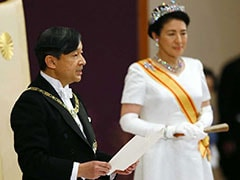 Japan New Emperor Naruhito Formally Ascends Chrysanthemum Throne