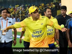 MS Dhoni Enthralls Chepauk Crowd With