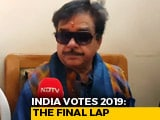 "Video : ""I Am Here To Fight For The People"": Shatrughan Sinha"