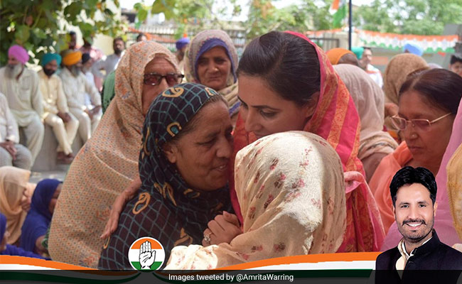 Congress Bathinda Nominee's Wife Says It Is A 'One-Sided' Contest