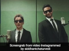 <i>Men In Black: International</i> - Siddhant Chaturvedi And Sanya Malhotra's Desi Teaser Is Worth Watching On Loop