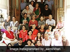 Aamir Khan Posts Family Photo Of The Raos On His Mother-In-Law's 75th Birthday