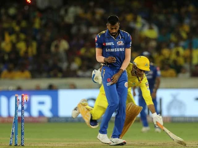 Watch: MS Dhonis Dramatic Run Out Causes Stir On Twitter, CSK Fans Fume