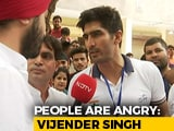 Video : False Promises Are The Biggest Issue In This Election, Says Vijendra Singh