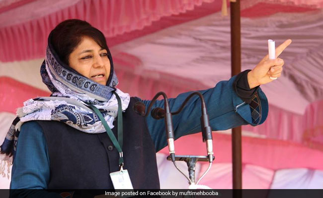Mehbooba Mufti Tweets On 'Right To Cheer' Any Team Amid India-Pak Clash