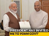 Video : PM Modi Meets President Ram Nath Kovind, Stakes Claim To Form Government