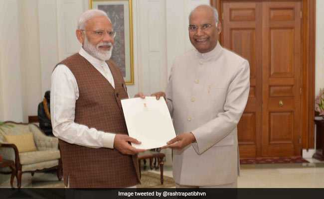 PM Modi Meets President, Stakes Claim To Form Government: Highlights