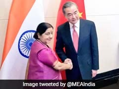 Sushma Swaraj Discusses Wuhan Summit Agenda With China's Foreign Minister