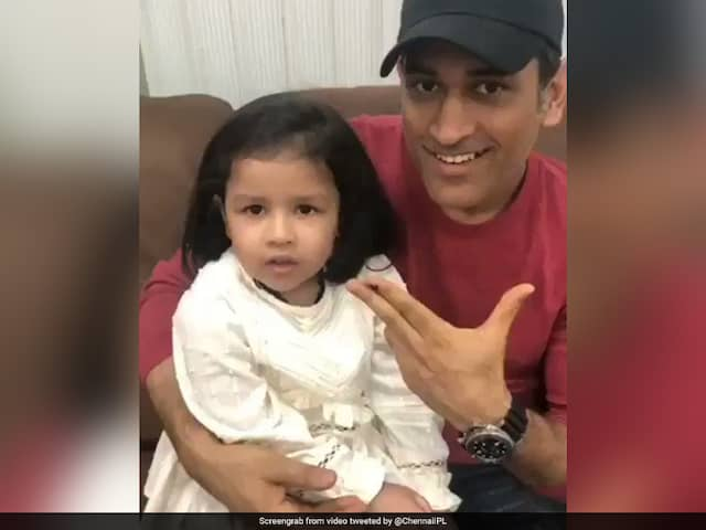 MS Dhoniss Daughter Ziva cute appeal for Voting touches hear of millions, VIDEO