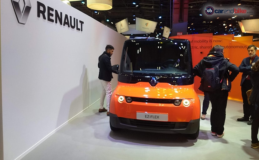 Renault EZ-FLEX concept was revealed in April 2019, as an experimental, electric and connected LCV