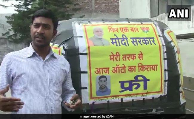 Uttarakhand Auto Driver Offers Free Rides To Celebrate PM Modi's Win
