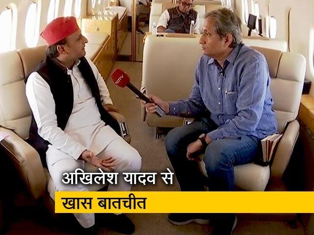 Videos : रवीश का रोड शो सपा प्रमुख अखिलेश यादव के साथ