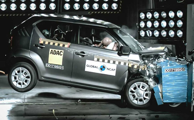 The Ignis was crash tested for the Safer Cars For Africa Campaign by Global NCAP
