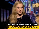 Video : Kathryn Newton On Playing A Journalist In <i>Detective Pikachu</i>