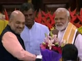 Video : PM Modi Unanimously Elected Leader Of NDA