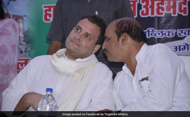 Amethi Congress President Quits After Rahul Gandhi Loses Family Seat