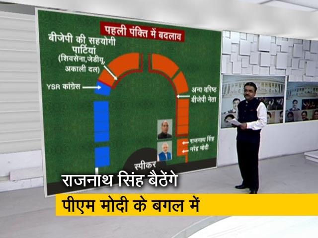 Videos : सरकार गठन के बाद संसद में कौन कहां बैठेगा?