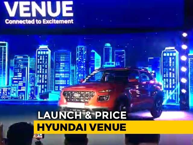 Video : Hyundai Venue: Launch and Price