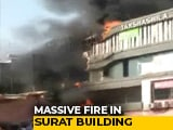 Video : 15 Students Dead In Surat Coaching Centre Fire, Many Jumped Off Building
